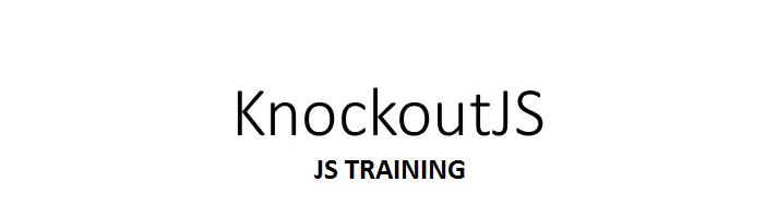 Knockout JS Training in Coimbatore